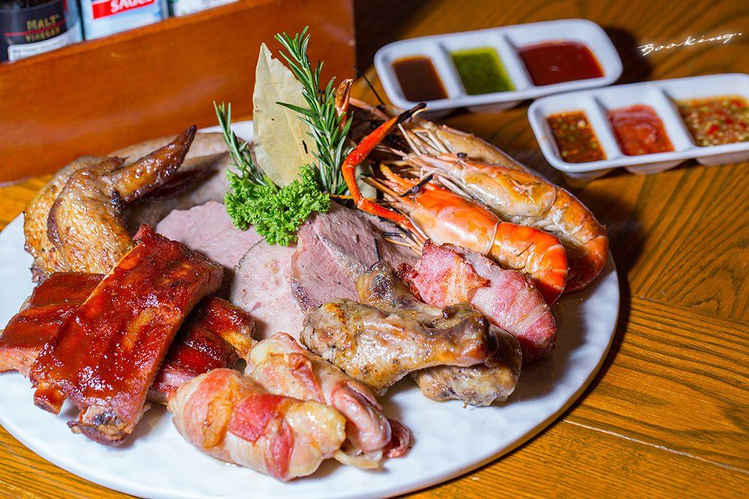 บุฟเฟ่ต์ BBQ หมู เนื้อ ไก่ กุ้ง เนื้อแกะ วัตถุดิบชั้นดี ไม่อั้น ที่ Tavern by The Sea โรงแรม Amari Ocean Pattaya