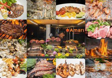 ห้องอาหาร ริมทะเล (Rim Talay) โรงแรม Amari Phuket
